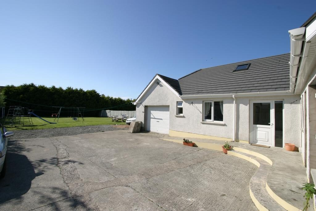 Beaches bed and breakfast visit Portrush parking and garden area