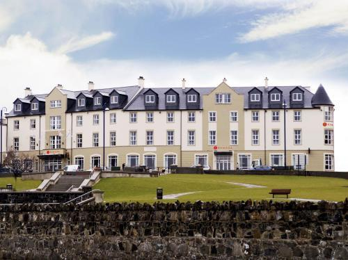 Portrush Atlantic Hotel front of the building