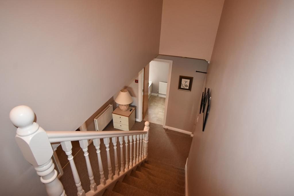 The Links Apartment stairway