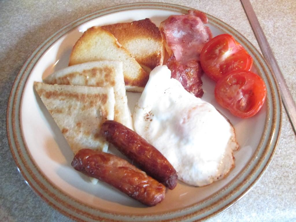 Ballyhemlin B&B breakfast