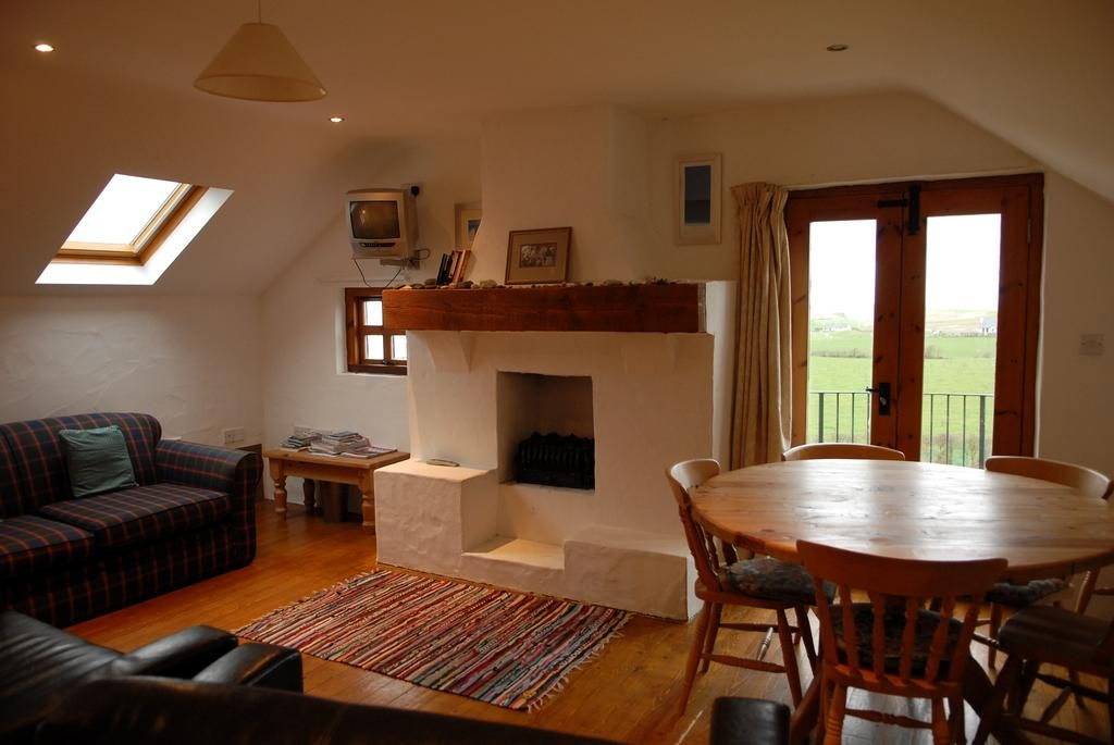 Ballylinny Holiday Cottages living room 1