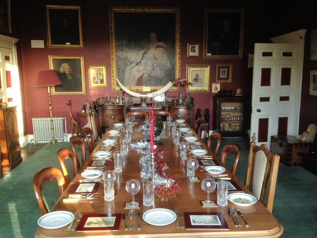 Ballylough House dining room