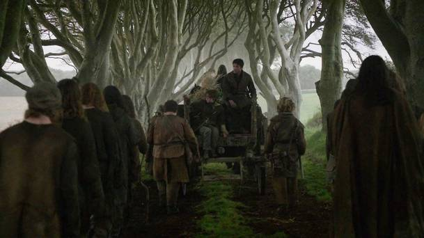 Game of thrones The kINGS ROAD ON THE DARK HEDGES VISIT PORTRUSH