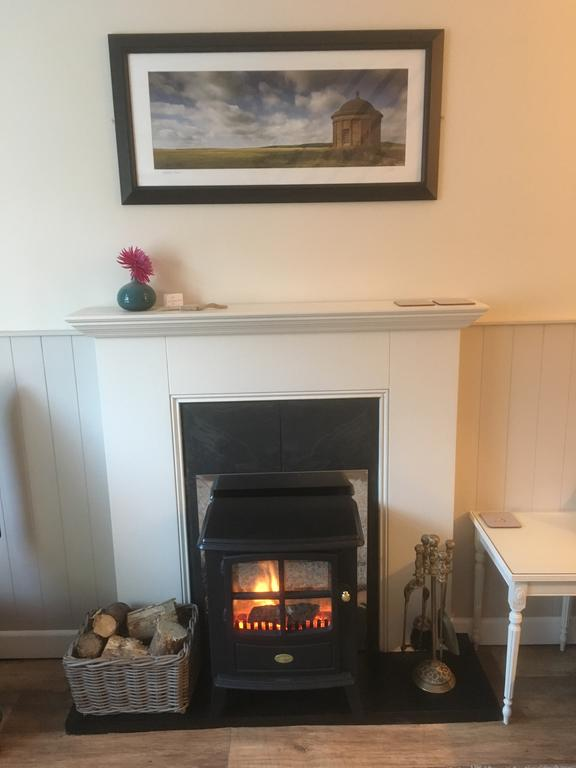 Wee Postbox House fireplace