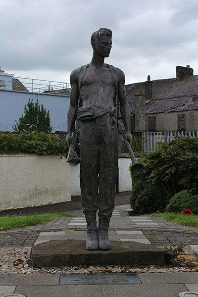 Image of the alphabet angel in bUSHMILLS