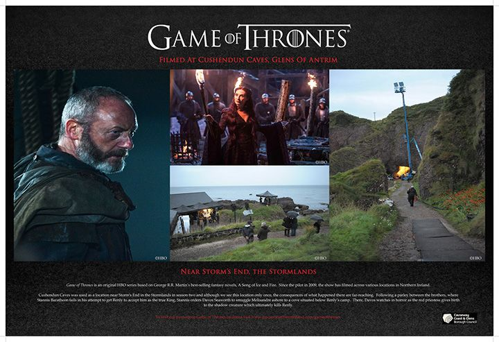 Cushendun-caves-game-of-thrones-film-board