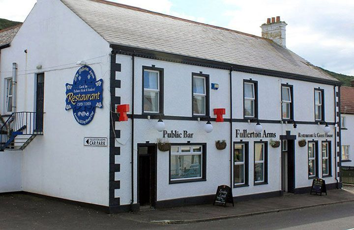 The fullerton Arms Ballintoy how to the Game of thrones journey of the doors number 6