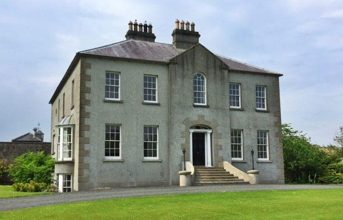 grace hill house near the dark hedges in Northern ireland