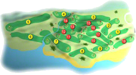 castlerock golf clourse layout